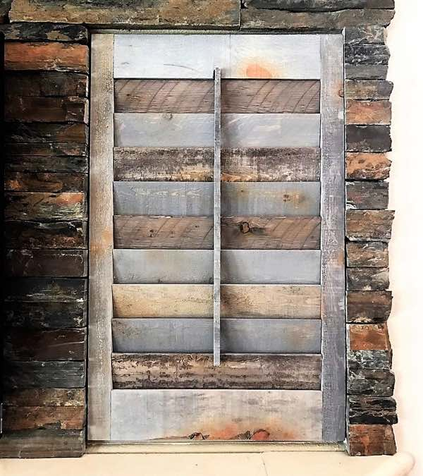 Fort Lauderdale recycled wood shutter