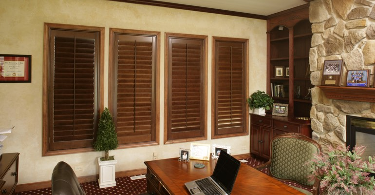 Nice Window Treatments West Palm Beach Part - 14: ... Eye-catching Window Treatment Built To Perfectly Fit Your Windows.  Customizable With 28 Stains, Ovation Wood Shutters Can Complement Any Style  In Your ...