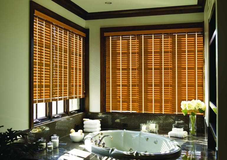 Fort Lauderdale bathroom blinds