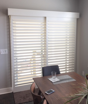 Fort Lauderdale bypass sliding door shutters