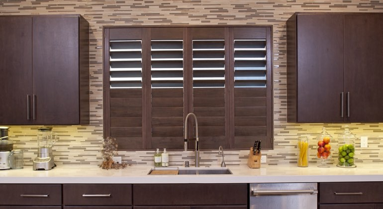 Fort Lauderdale cafe kitchen shutters