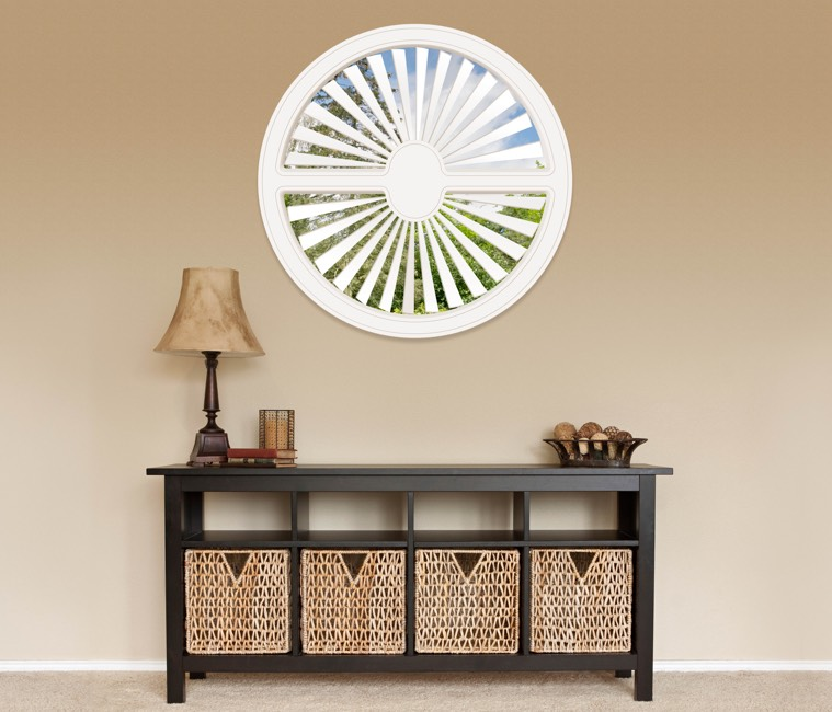Circular Shutters in Fort Lauderdale, FL