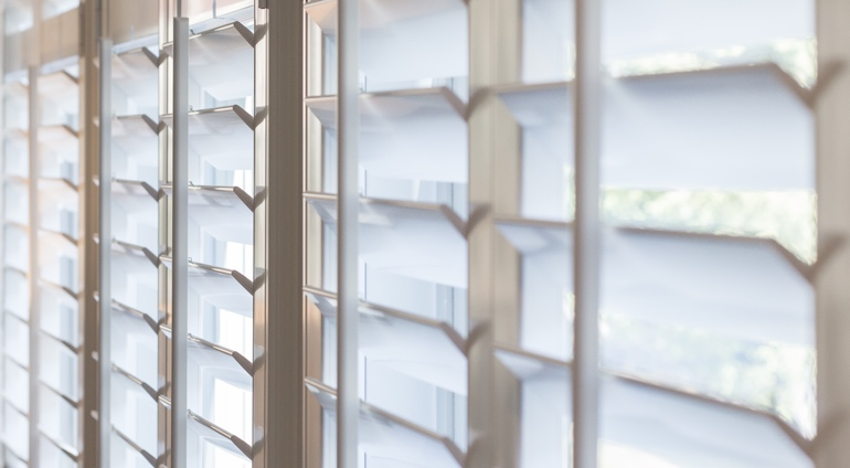 Fort Lauderdale shutter louver close-up