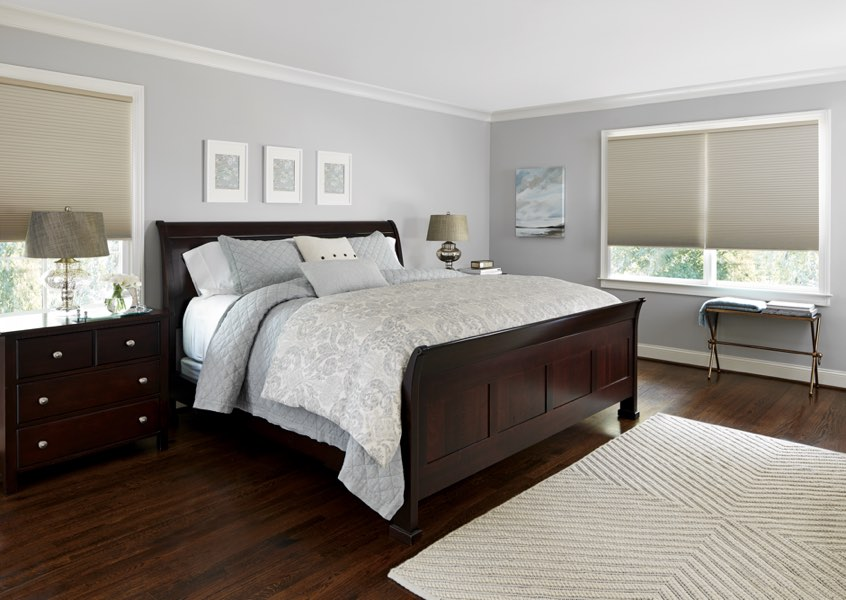 Fort Lauderdale blackout shades bedroom