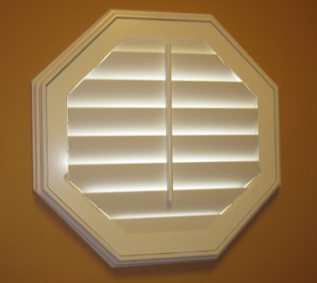 Fort Lauderdale octagon window with white shutter