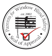 Seal of Approval by Parents for Window Blind Safety in Fort Lauderdale