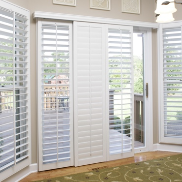 Fort Lauderdale Sliding Patio Door Shutters