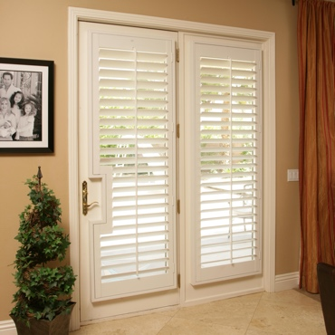 Patio French Door Shutters Fort Lauderdale