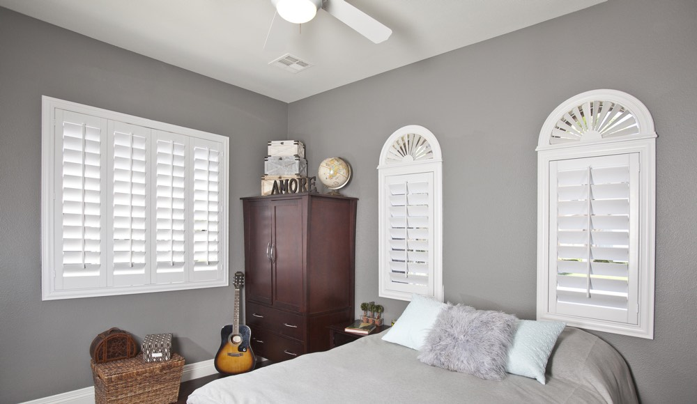 Polywood Shutters In A Fort Lauderdale Bedroom