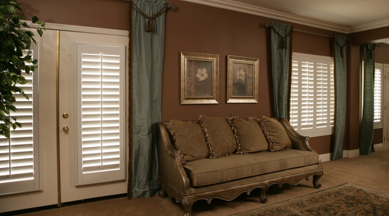 Fort Lauderdale living room french door