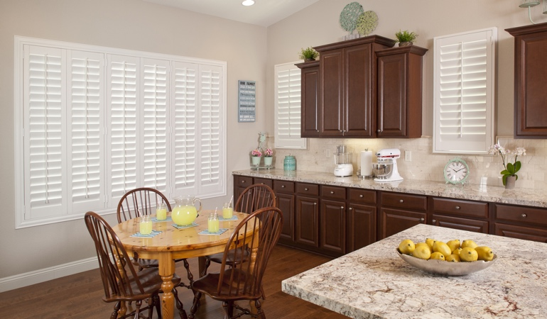 Polywood Shutters in Fort Lauderdale kitchen