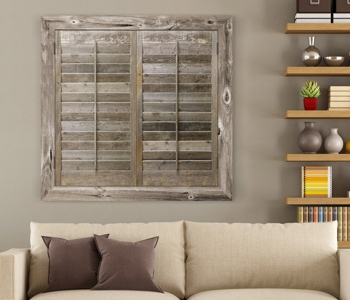 Reclaimed Wood Shutters Product In Fort Lauderdale