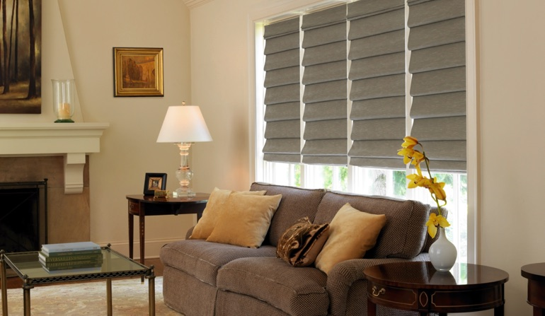 Roman Shades In Fort Lauderdale, FL
