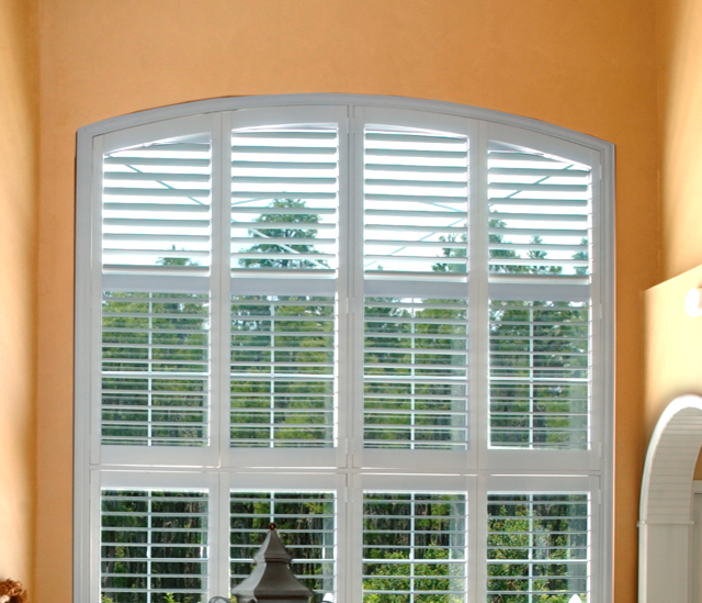Arched Window Shutters In Fort Lauderdale, FL