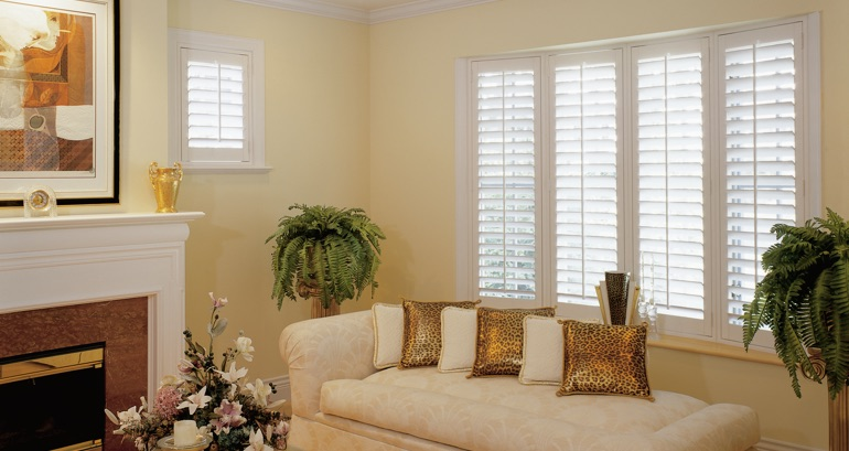 Fort Lauderdale living room shutters