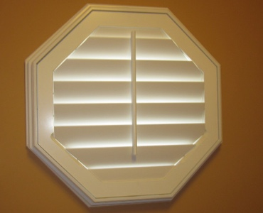 Fort Lauderdale octagon window shutter