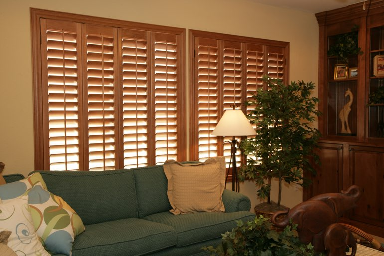 Ovation Shutters In A Fort Lauderdale Living Room.