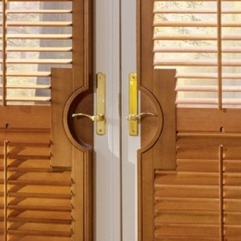 Fort Lauderdale french door handle cutout