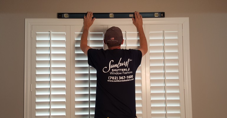 Fort Lauderdale interior shutter measurement