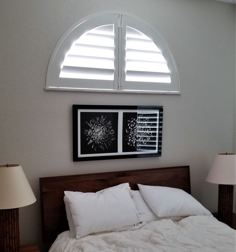 Fort Lauderdale arch small shutters