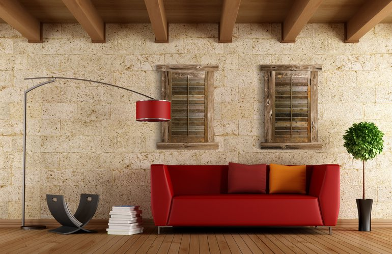 Hottest Trends In Window Treatments In Fort Lauderdale: Reclaimed Wood Shutters